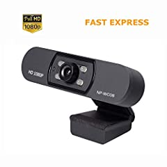▶ Built-in Microphone ◀ --- Web camera with noise canceling technology, helps improve speech quality for crystal clear audio. The voice can be heard clearly within 8 meters, helps to avoid sitting so close to the HD USB webcam you could kiss it! ▶ Pl...