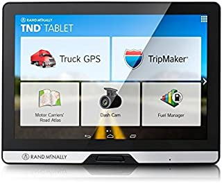 Rand McNally 528013076 Intelliroute 8in TND Tablet with Built-in Dash Cam (Renewed)