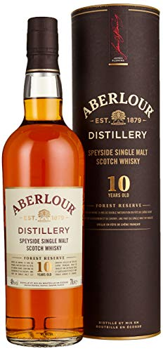 Aberlour 10 Years Old FOREST RESERVE Speyside Single Malt Scotch Whisky Whisky (1 x 0.7 l)