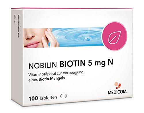 NOBILIN BIOTIN 5 mg N - 100 Tabletten – Arzneimittel