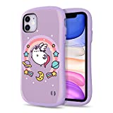 [2019] Case for iPhone 11, iFace [First Class] Pusheen Cat Series Dual Layer Anti Shock Fit Air Cushioned [TPU + PC] [Heavy Duty Protection], Pusheenicorn Purple