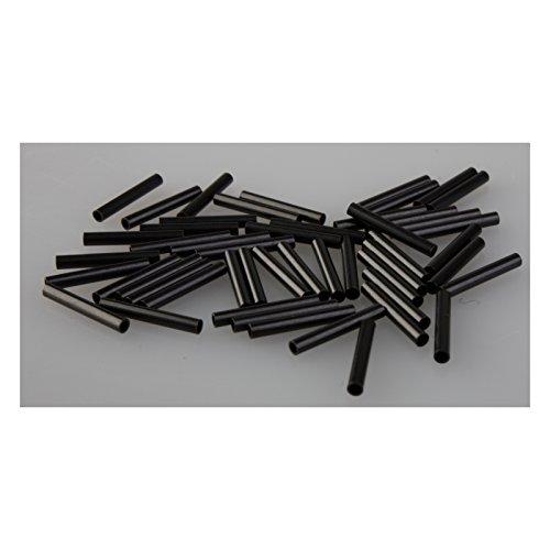 Savage Gear Wire Crimps DB Quetschhülsen für Vorfächer, Klemmhülsen für Raubfischvorfächer, Spinnvorfachmaterial, 50 Stück, Durchmesser:1.20mm