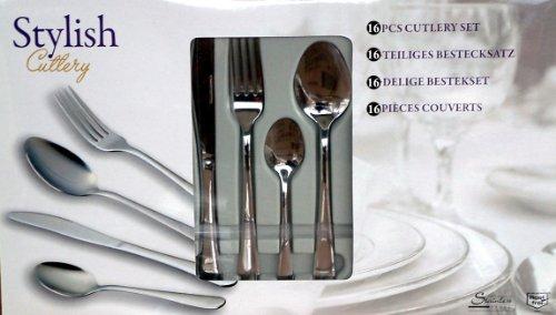 12 pièces Esmeyer café cuillère silke en acier inoxydable 18//0 Cuillère à café