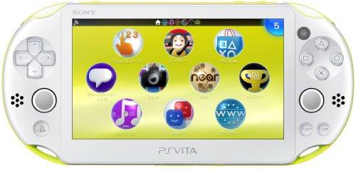 PS Vita Slim - Lime Green / Whit...