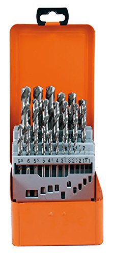 Projahn Bohrerkassette HSS-G 25-teilig Durchmesser 1-13 mm um 0,5 Eco 60375
