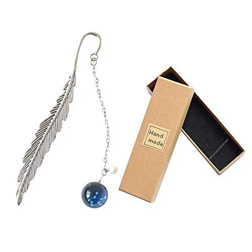 Handmade Metal Feather Bookmark Fancy Luminous 12 Constellations Bookmarks...