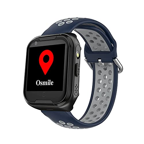 Osmile ED1000 GPS Anti-Lost Tracker para pacientes con demencia, alzheimer y autismo (reloj GPS para ancianos y niños con llamada SOS, seguimiento y función GeoFence
