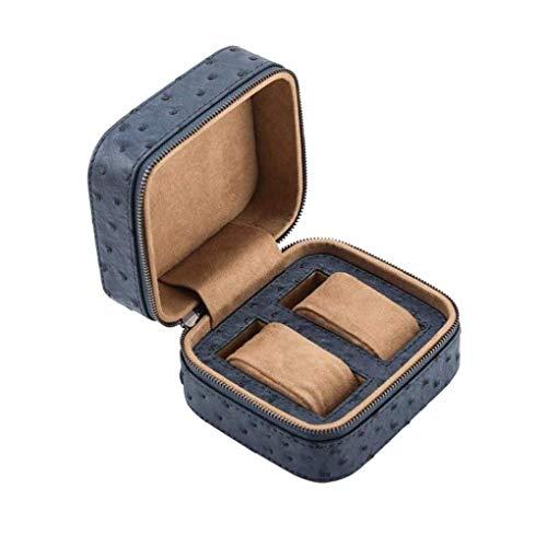 KUANDARGG Uhr Box Holder Organizer, Uhr Aufbewahrungsbox - Premium Leder Schmuck Armband Aufbewahrung Geschenketui, Single Grid