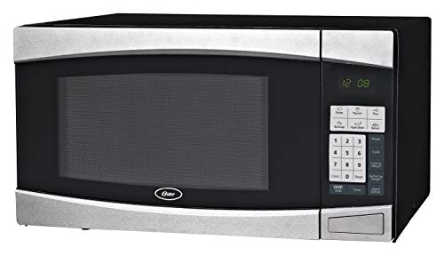 Oster Family-Size 1.4-Cu. Ft. 1000W Countertop Microwave Oven, Black