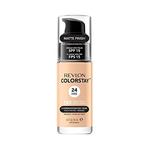 Revlon ColorStay Make-up voor Combi/Oily Skin zand beige 180, 1 x 30 g