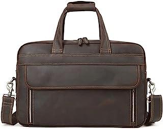 "Fyuanmeiishoutb briefcase, Men's Business Briefcase Single Shoulder Portfolio 15.6"" 17"" Laptop Travel Men's Bag Handbag"