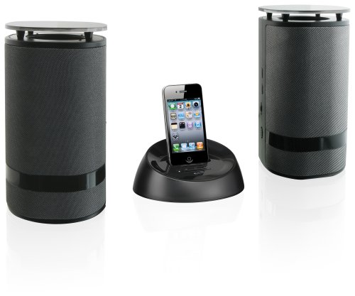 travel speakers for ipods iLive Wireless Speaker System for iPod/iPhone - Black