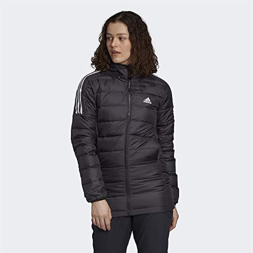 adidas Damen Essentials Down Parka, Black, XS