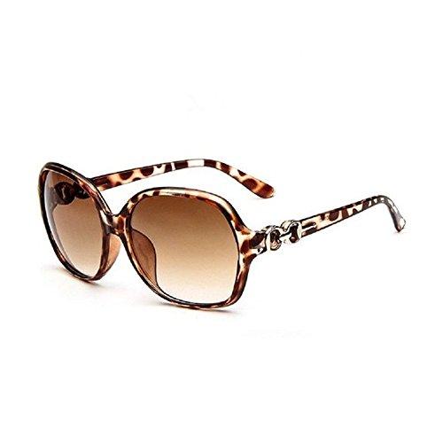 JUNGEN Sonnenbrillen Frauen mit UV 400 Schutz Brillen Sunglasses, Braun