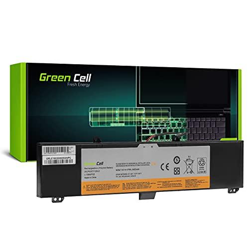 Green Cell Batería para Lenovo Y50-70 20349 20378 20411 20413 80DT 80EJ Y50-80 Y70-70 20350 20415 80DU Portátil (6400mAh 7.4V Negro)