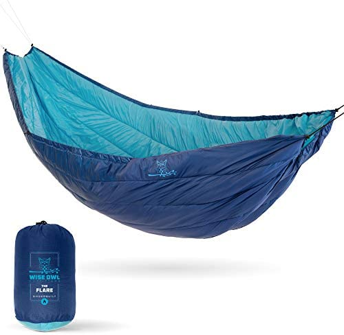 Wise Owl Outfitters Hammock Underquilt for Single Double Camping Hammocks Warm 4 Season Winter product image