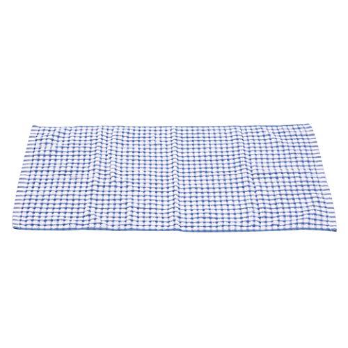 HBWHY Toalla de cocina Paño de lavado Absorbente Lavavajillas Toallas de Limpieza de platos Toallas de cocina Herramientas de limpieza para el hogar, Azul