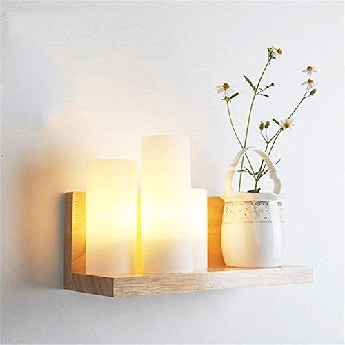 JJZHG wandlamp wandlamp waterdichte wandverlichting Bedside woonkamer slaapkamer lamp gang wandlamp (zonder potplanten), 310x120x155mm bevat: wandlamp, stoere wandlampen