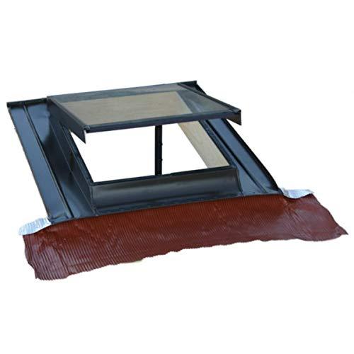 Lucernario-finestra per tetto verticale modello Top in alluminio– Art. 257V – TECNOMETAL