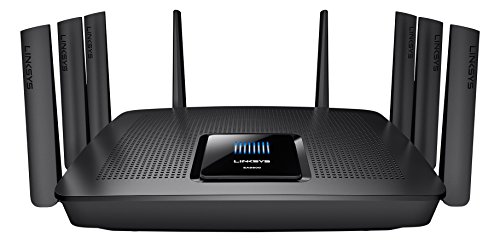 Linksys EA9500-EU Router Wi-Fi Gigabit Tri Band AC 5300, Nero