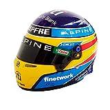 Réplica 1:2 Casco Fernando Alonso 'Alpine 2021'