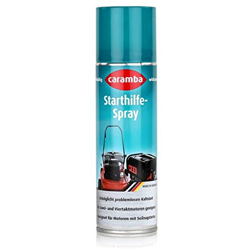 CARAMBA Starthilfe Spray 300 ml Kaltstarthilfe Startschub Startünterstützung Pannenhilfe Startspray Start Help Rasenmäher Rasenmäherstarthilfe