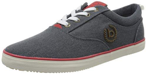 bugatti Herren 321502046950 Sneaker, Blau, 42 EU