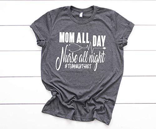 Night Shift Nurse Shirt for Women