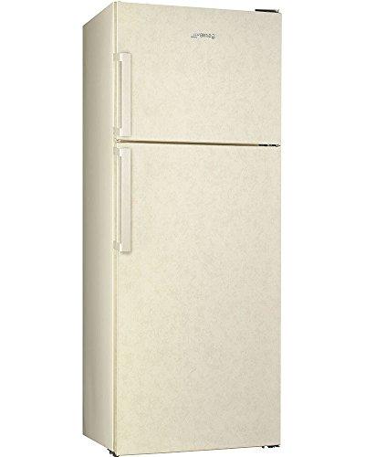 SMEG FD43PMNF4 - Frigorifero due porte, 70 cm, effetto marmo. Classe energetica A+ NO-FROST