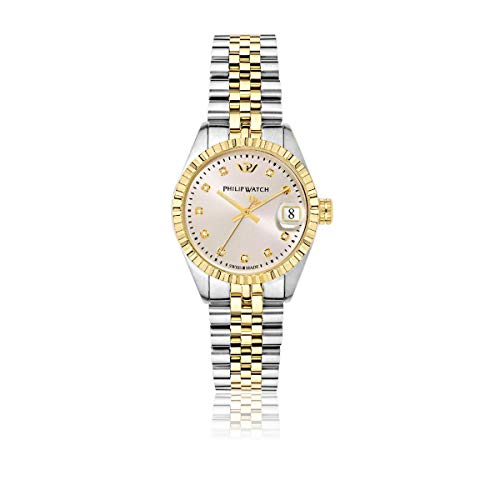 PHILIP WATCH Damen - Armbanduhr Caribe Analog Quarz Edelstahl R8253597522