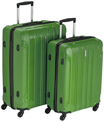 Travelite Koffer Colosso 4-Rad Polypropylen-Trolley L/M, 76 cm 184 Liters Grün 71210-80