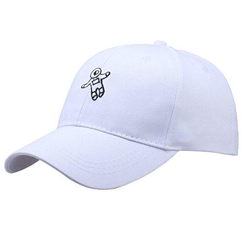 OHQ Casquillo del Sombrero De BéIsbol del Astro del Sombrero De La Gorra del Astronauta del Sombrero De La Manera Unisex Sombrero
