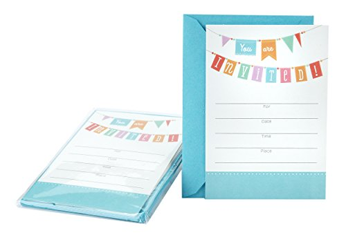 Hallmark Invitation Cards (Celebration Banner) -