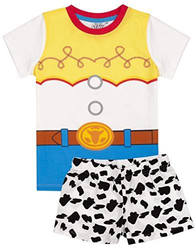 Disney Toy Story Pijama niñas Disfraz Jessie Camiseta Larga Corta Pantalones 4-5 años