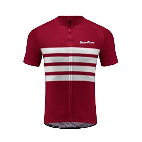 Uglyfrog MZTD07 Estate Uomini Sport all'Aria Aperta Usura Manica Corta Magliette Ciclismo Maglia Bicicletta Abbigliamento Bici Triathlon Wear