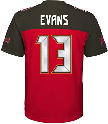 Mike Evans Tampa Bay Buccaneers #13 Red Youth Home Mid Tier Jersey (Large 14/16)