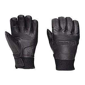 Harley-Davidson Men's Cyrus Insulated Waterproof Gloves, Black