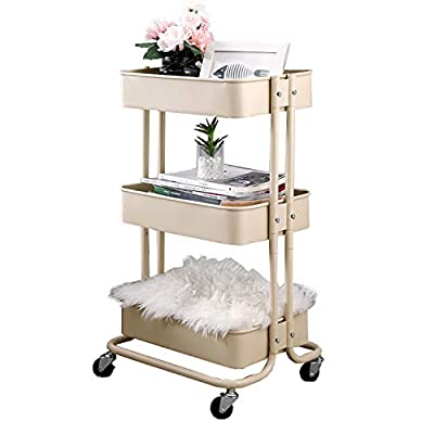 walsport Utility Rolling cart 3-Tiers & 4-Tiers from