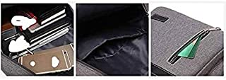 Fyuanmeiibb Backpack, Men and women business leisure travel external backpack Suited for outings/hiking/schools(Color : Kh...