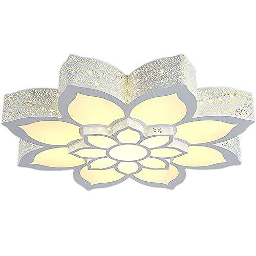 Plafón de alto rendimiento Luz de techo-simple moderna lámpara de techo LED de ahorro de energía, creativo romántico luces decorativas, dormitorio Estudio Sala de estar iluminación de techo, 50x12cm