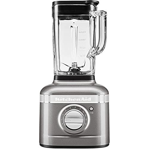 KitchenAid ARTISAN K400 Standmixer 5KSB4026EMS 1200W 1,4 Liter Medaillon Silber