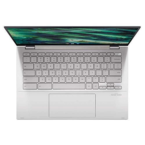 ASUS Chromebook Flip C436FA 35,5 cm (14 Zoll, Full HD, IPS-Level, NanoEdge, Touch) Convertible Notebook (Intel Core i5-10210U, Intel UHD-Graphics, 16GB RAM, 512GB SSD, Chrome OS) Aerogel White