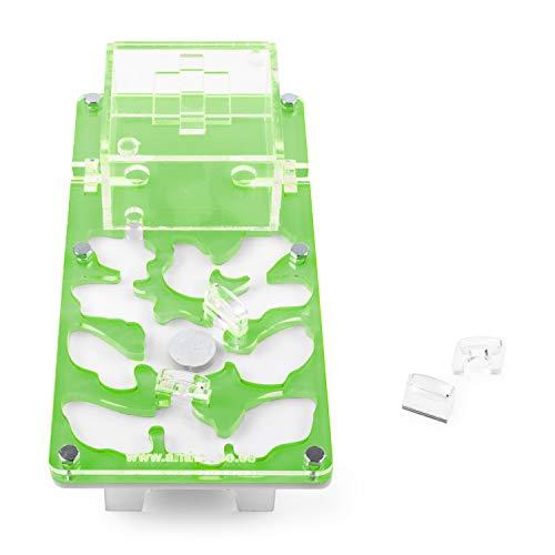 Anthouse.es Hormiguero Acrilico NaturColor 20x10x1cms Seta (con Hormigas Gratis) (Verde)