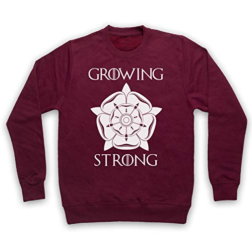 Inspired Apparel Inspirado por Game of Thrones House Tyrell Sigil Growing Stronger No Oficial Adultos Sudadera