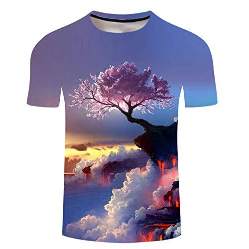 SSBZYES Camiseta para Hombre, Camiseta De Verano De Manga Corta con Cuello Redondo, Camiseta De Gran Tamaño para Hombre, Camiseta con Estampado De León a La Moda para Hombre, Sudadera, Pulóver