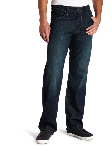 Levi's Men's 569 Loose Straight Fit Jean, Kale, 38W x 32L