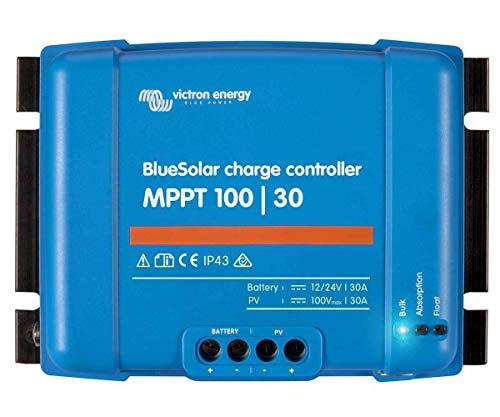 Regulador Solar MPPT Controlador de Carga 12V / 24V 30A BlueSolar MPPT 100/30