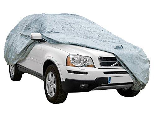 Cover+ Funda Exterior Premium para BMW X3 DE 2010, Impermeable, Doble Capa sintética y de Finas trazas de algodón por el Interior, Transpirable para Evitar la condensación en el Parabrisas.