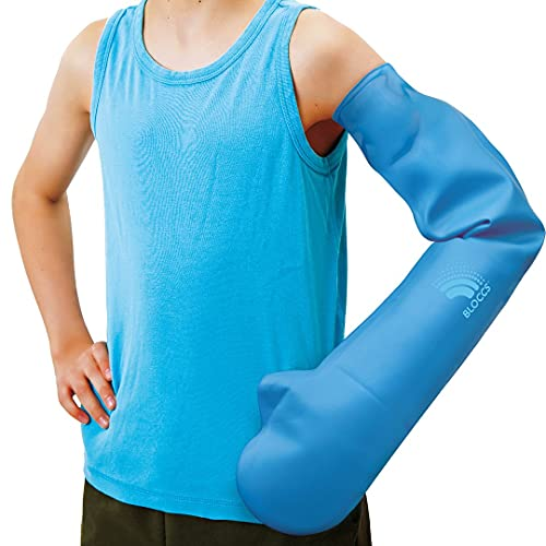 Bloccs Waterproof Cast Covers for Shower Arm, CFA73-S - Child Full Arm (Small)