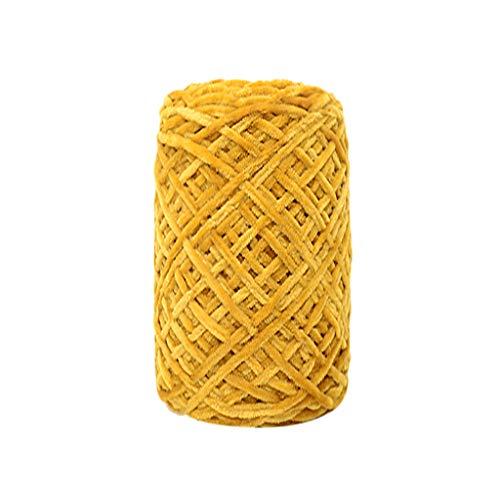 Lemoning Gold Velvet Yarn Roving Scarf Knit Wool Yarn Thickness Warm Hat Household H